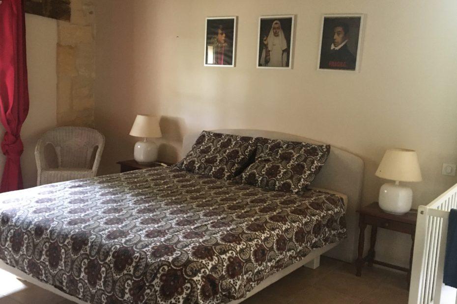 Chambre Roseraie 1